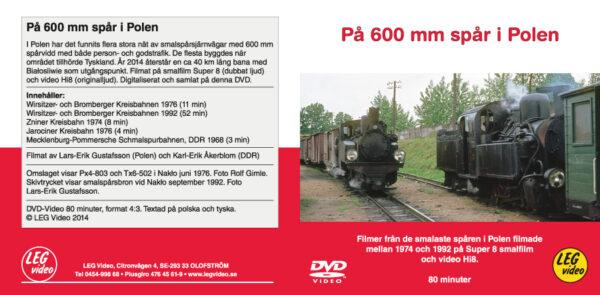 På 600mm spår i Polen