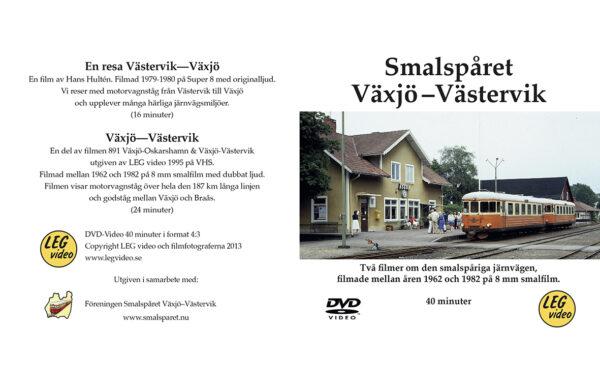 Smalspåret Växjö-Västervik, film