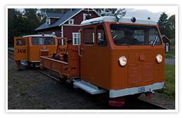 MTR 31 3050 på Smalspåret i Hultanäs