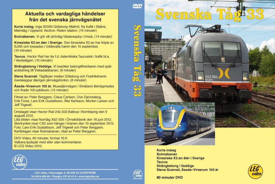 Svenska tåg 33