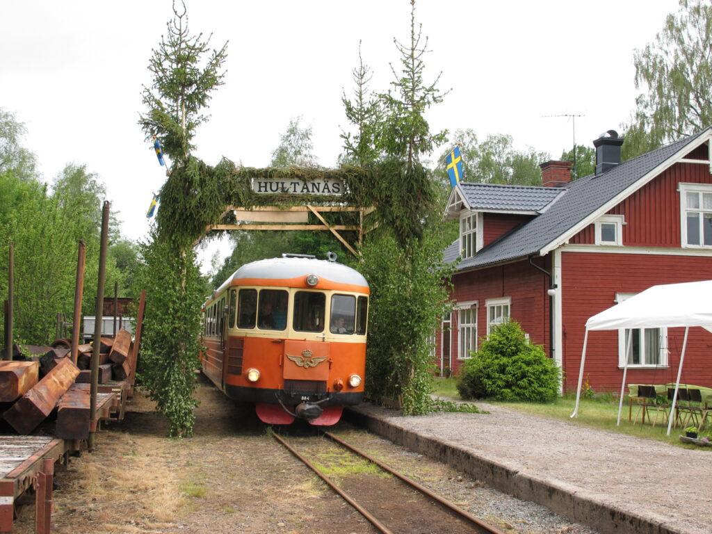100-årsjubileum i Hultanäs.