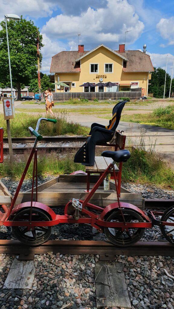 Cykla dressin från Åseda